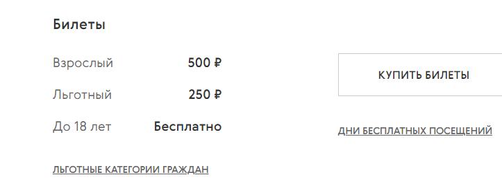 Купить билеты на сайте Новой Третьяковки